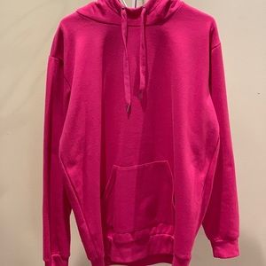 Other - Over sized hot pink hoodie